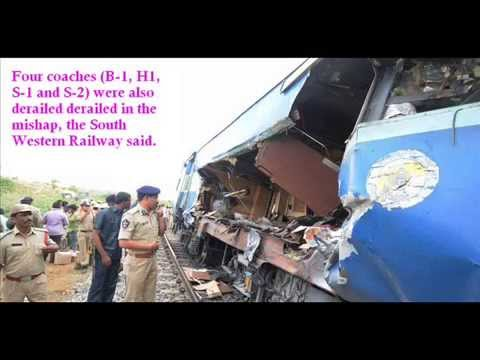 Today Train Accident News - Nanded to Bangalore Train Accident Breaking News