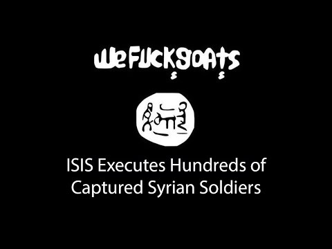 ISIS Executes Hundreds of Captured Syrian Soldiers