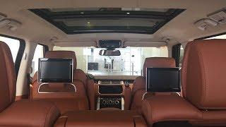 Range Rover SV Autobiography 5.0 V8 Corris Grey Metalic Color