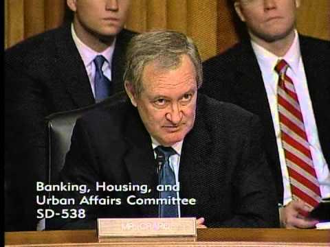 Senator Crapo Questions U.S. Treasury Secretary Timothy Geithner