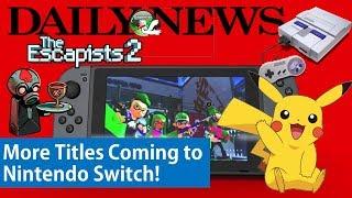 Splatoon 2 DLC, SNES Classic Stock Update, Pokemon Go Fest, and More Games!