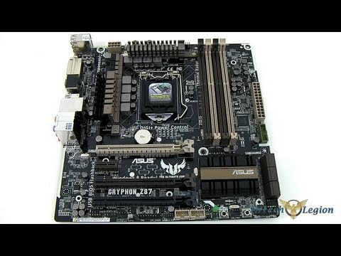 ASUS GRYPHON Z87 TUF mATX Motherboard Unboxing + Overview