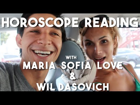 Horoscope reading with Maria Sofia Love (Vlog 10 - Virgo)