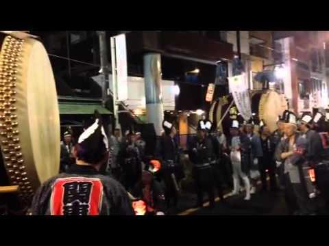 くらやみ祭り 2014 大太鼓 沖野玉枝 検索動画 29