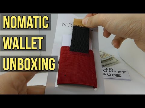 Nomatic Wallet Unboxing - Is this my new daily driver?