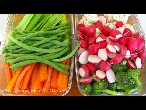Healthy Meal Prep: A Week of Veggies | Clean & Delicious
