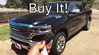New 2019 Ram Laramie Longhorn In Depth Review and Drive! Best 1/2 Ton Truck!
