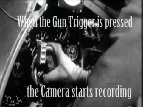 Spitfire  Gun camera actual combat footage - Battle of Britain - RAF