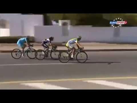 Peter Sagan Bunny Hops in Tour of Oman