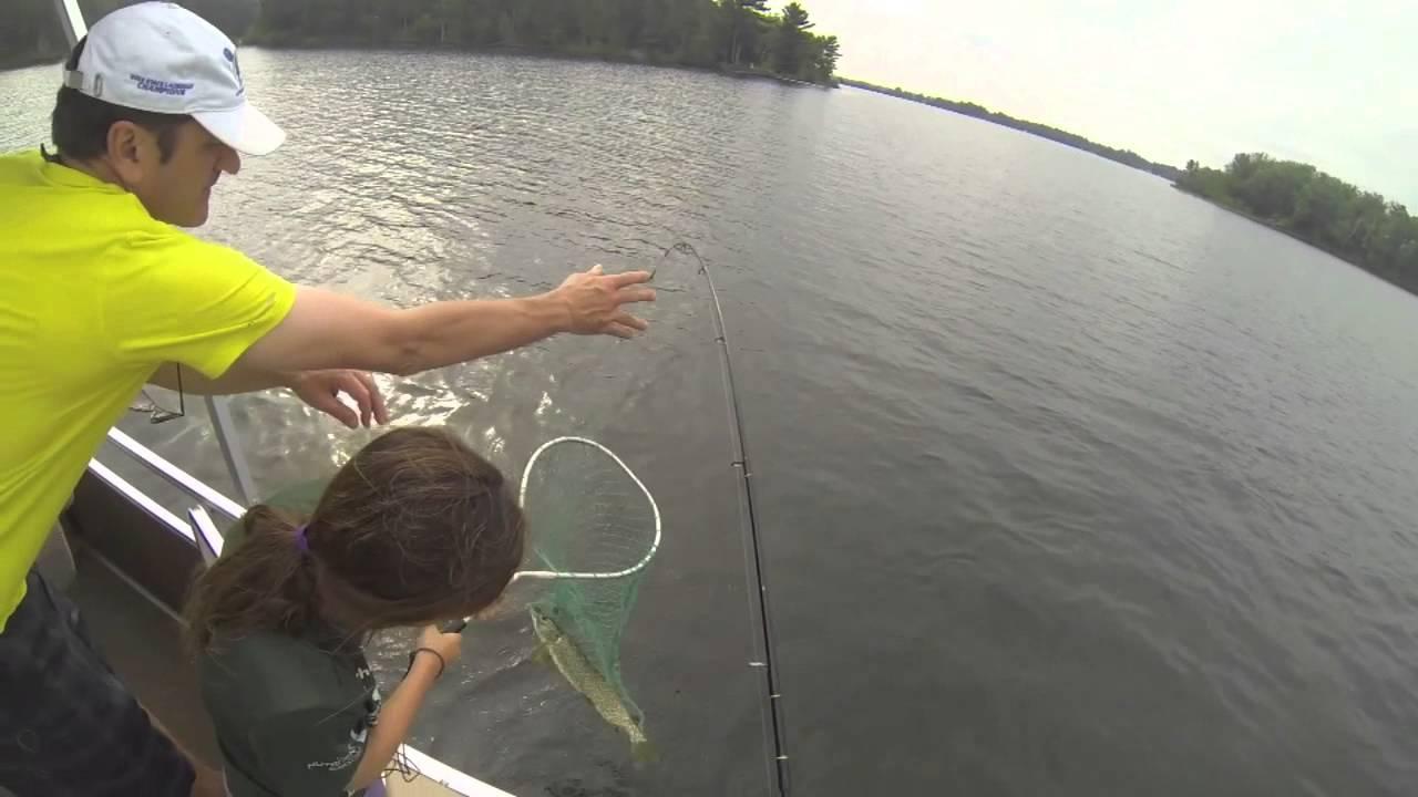 GoPro Pike Fishing   Rush Lake   GoPro Hero 3 HD