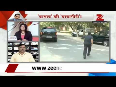 Sonia Gandhi meets Robert Vadra following his clash with journalist