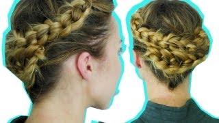 ПЛЕТЕНИЕ кос УЗЕЛКАМИ - БЫСТРАЯ ПРОСТАЯ прическа на каждый день