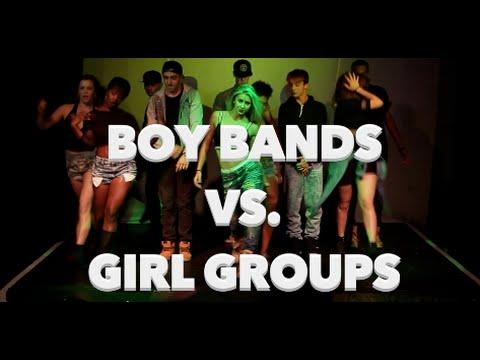 Boy Bands Girl Groups Youtube