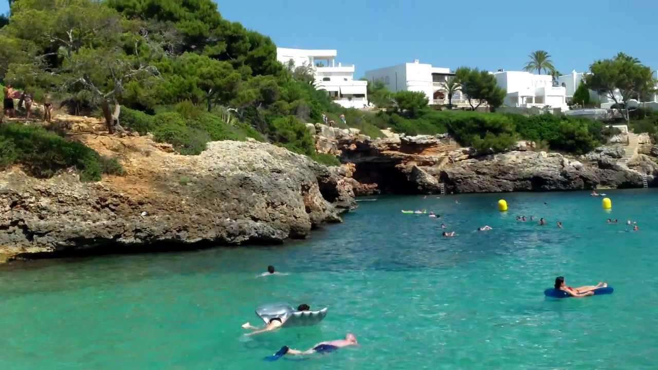 Mallorca 2012 Cala d´Or Cala Egos.mp4 - YouTube