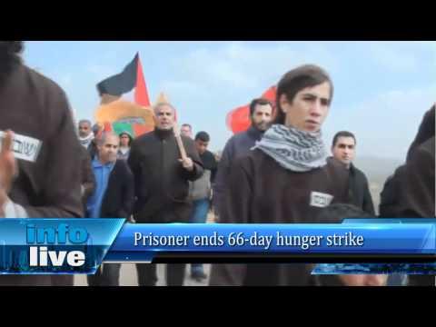 Prisoner ends 66-day hunger strike
