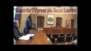 video Città di Locri seduta consiliare del 29 dicembre 2014. Si discute anche della vicenda dei lavoratori LSU/LPU. Immagini di Enzo Lacopo © 2014.