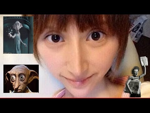 Japanese Porn Star Turns Into Harry Potter's Dobby video