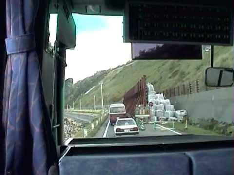 斜里バス 斜里駅→ウトロ温泉BT→知床大橋 日の出を出発