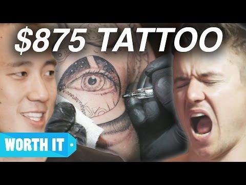 $80 Tattoo Vs. $875 Tattoo
