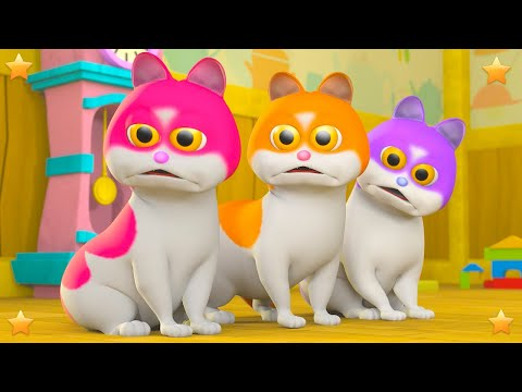 Three Little Kittens Part 2 | Kindergarten Nursery Rhyme & Song for Kids by Little Treehouse S03E143