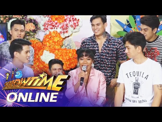It's Showtime Online: Miss Q & A Elsa Droga hangs out with the Hashtags