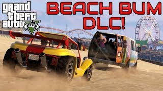"""GTA 5 Beach Bum DLC"" NEW GAME MODES! ""GTA 5 Online Content Creator"" Stimulus Package Update"
