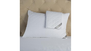 Concierge Collection Diamond 2pk Pillow Protectors