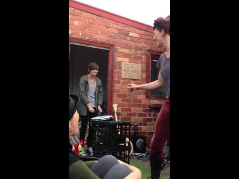 Blister In The Sun - Amanda Palmer house party, Melbourne 2013