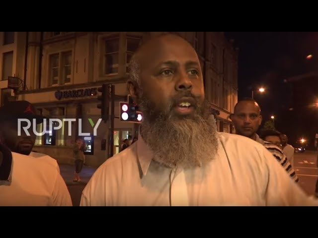 UK Eyewitness recalls van attack outside London mosque