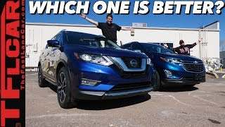 The 2019 Nissan Rogue Takes on the New Chevy Equinox in This Real Word Buddy Review!