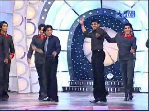 Sreeshanth Dancing with the sharukh khan