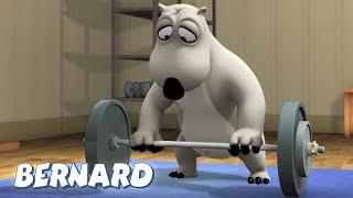 Bernard Bear | Weight Lifting Throw AND MORE | Cartoons for Children