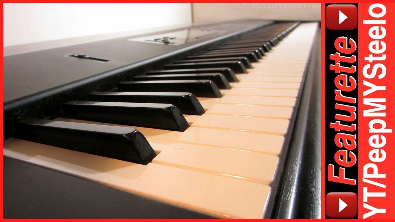 88 Key Piano >> 88 Key Keyboard Midi Controller or Digital Piano w/ Weighted Keys in Korg T1 Synthesizer Like M1 ...