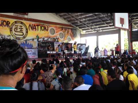 Tafuna High School drumline 2014