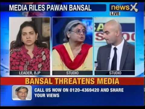 NewsX: What made Pawan Kumar Bansal angry? -- Part 2