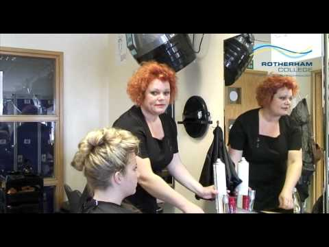 Hairdressing Student Success