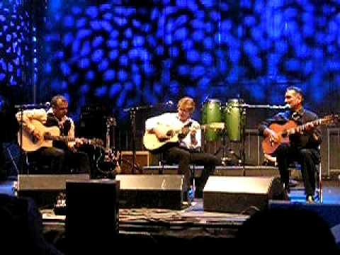 Rik Emmett, Pavlo and Oscar Lopez - Fusion Festival July 2009