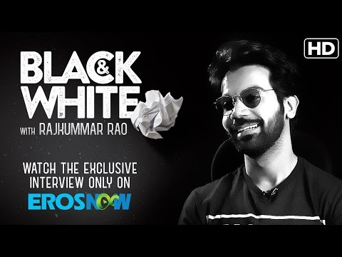 Catch Rajkummar Rao On Eros Now Black & White | The Interview