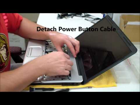 HP ProBook 4510S Laptop Take Apart, Disassemble, How To Open, Video