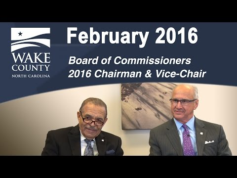 WGTV February 2016 - Board of Commissioners Chairman and Vice-Chair