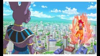 Sayan God Goku VS Destroyer