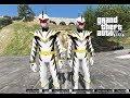 GTA 5 Mod - Siêu Nhân Trắng Khủng Long tiêu Diệt Siêu Nhan Giả Mạo thumbnail