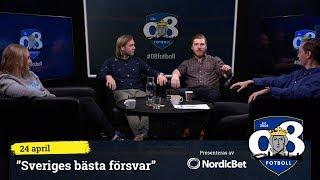 """08 Fotboll: """"Sveriges bästa försvar"""""""