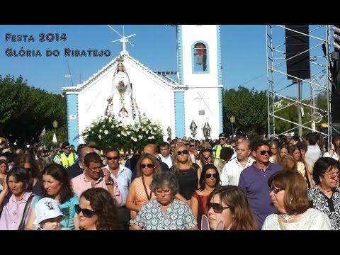 Festa 2014 em Gl�ria do Ribatejo - cerim�nia religiosa.