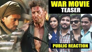 War Teaser Public Reaction | Hrithik Roshan | Tiger Shroff | Vaani Kapoor