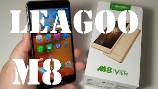 Leagoo M8 отличный бюджетник честный полный обзор тесты камеры GPS сканер пальца