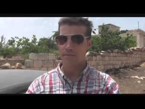 LAST FOOTAGE  James Foley BEHEADED BY ISIS 1974   2014    R I P