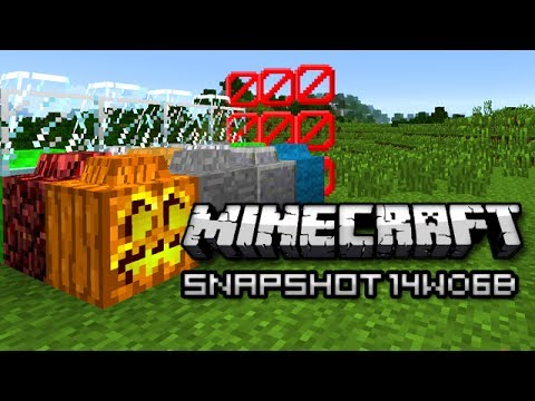 Minecraft: Lego Blocks Swimming Slimes and More Snapshot 14w06b