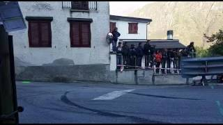 Rally 2 Laghi  PS 1 Montecrestese inversione