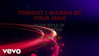 Watch Andy Griggs Tonight I Wanna Be Your Man video